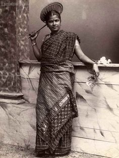 Portrait of a Tamil Lady