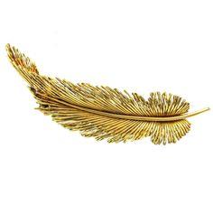 Sterle Paris Gold Leaf Pin 1