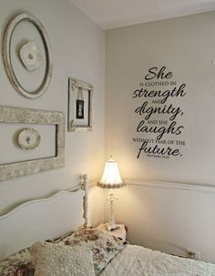 Proverbs 3125 She is clothed with Strength by designstudiosigns