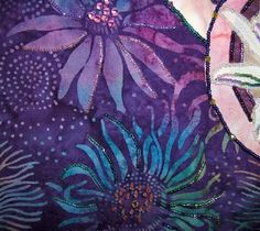 Dragonfly Beaded Quilt Wall Hanging