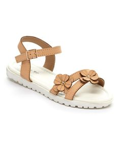 Look at this Lucky Top Beige Floral Power Sandal on today! Kid Shoes, Cute Shoes, Girls Shoes, Little Fashion, Kids Fashion, Kids Sandals, Huaraches, Sandro, Sunnies