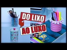 DIY: Do LIXO ao LUXO - 3 Ideias que você precisa Tentar ✂️️ - YouTube