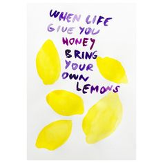 Add some sour too the sweet #whenlifegivesyoulemons #sweetandsour #lemons #honey #sticky