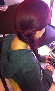 red hair color..if only it wouldn't fade so fast and be so hard to keep up with!