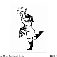 Archivists Rule Postcard