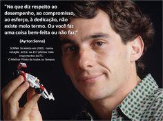 Mensagem de Ayrton Senna