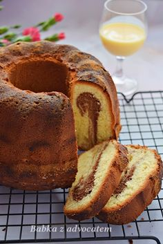 DSC_6475Babka z advocatem – najlepsza Banana Bread, Food And Drink, Cooking Recipes, Baking, Desserts, Decor, Gastronomia, Tailgate Desserts, Deserts