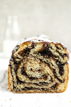 Chocolate Pumpkin Spice Babka - December 11 2018 at - and Inspiration - Yummy Sweet Meals And Chocolates - Bakery Recipes Ideas - And Kitchen Motivation - Delicious Sweets - Comfort Foods - Fans Of Food Addiction - Decadent Lifestyle Choices Bakery Recipes, My Recipes, Dessert Recipes, Favorite Recipes, Desserts, Babka Recipe, Ober Und Unterhitze, English Food, Dry Yeast