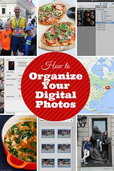 How to Organize Your Digital Photos...It is easier than you think! | cookincanuck.com #photography