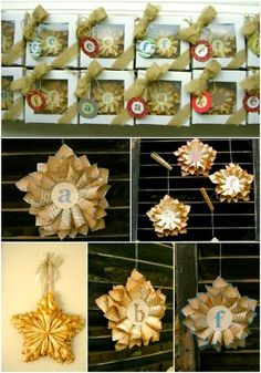 Pocket: 20 Hopelessly Adorable DIY Christmas Ornaments Made from Paper