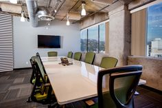 Open Office, Free Day, Coworking Space, Cubicle, Industrial Chic, Contemporary, Table, Inspiration