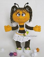 Ravelry: Miss Bee pattern by Amigurumi Fair