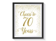 Hey, I found this really awesome Etsy listing at https://www.etsy.com/listing/487636031/cheers-to-70-years-gold-confetti