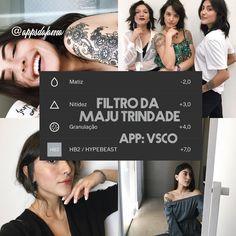 """1,109 curtidas, 168 comentários - ↜Apps da Fama↝ (@appsdafama) no Instagram: """"Filtro da @majutrindade ❤️ #filter #vsco #vscocam"""""""