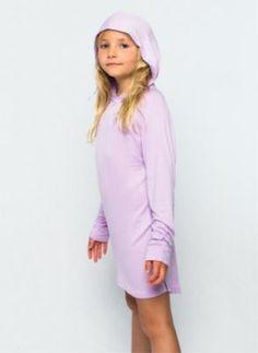 A two-piece bamboo underwear set for girls, featuring boyleg ...