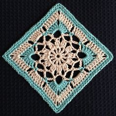 Ravelry: Project Gallery for Garden granny square pattern by Patrizia Pisani