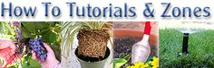 DIY:  How To Garden - this link has a lot of tutorials on gardening - pruning trees, planning a garden, testing soil, etc.