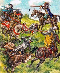 Liliane y Fred Funcken - Tropas de caballería - Finales del siglo XVI