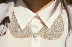 how to wear collar necklace