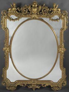 A Fine Louis XIV Style Marginal Frame Mirror - Adrian Alan