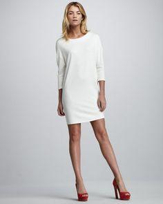 Basic Ponte Dress by velvet BY GRAHAM & SPENCER at Neiman Marcus.