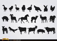 sombra de animales - Buscar con Google