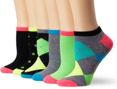 K. Bell Socks Women's 6-Pack No Show... $10.00
