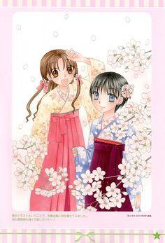 Tachibana Higuchi, Gakuen Alice, Graduation - Gakuen Alice Illustration Fanbook, Mikan Sakura, Hotaru Imai