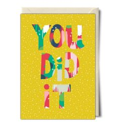 You did it - Card by Neelam Kaur