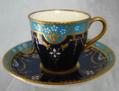 Minton Demitasse Cup and Saucer Tiffany Co