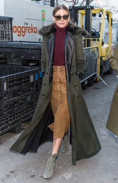 Olive, Cranberry, and Mustard Are Fall's Most Neutral Colors