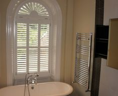 Georgian Arched Window shutters from West Country Shutters
