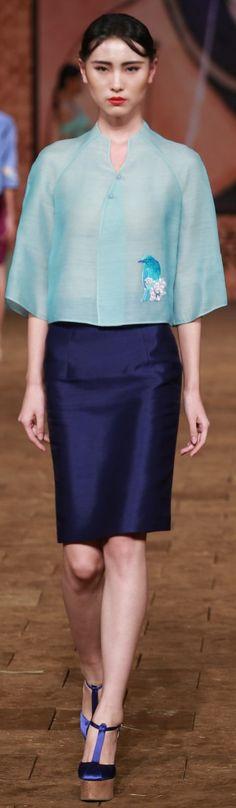 Zhang Zhifeng 2015 China Fashion Week S/S 2015…