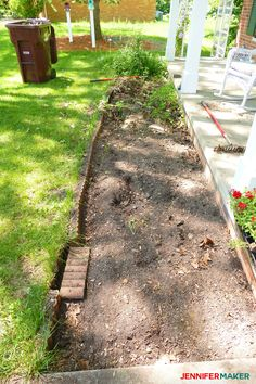 DIY Retaining Wall Construction for a Beautiful Garden – Jennifer Maker – front yard ideas with porch Retaining Wall Construction, Backyard Retaining Walls, Building A Retaining Wall, Backyard Walkway, Garden Retaining Wall, Outdoor Landscaping, Front Yard Landscaping, Landscaping Ideas, Landscaping Plants