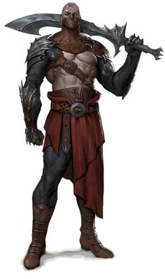 Fantasy Male, Fantasy Warrior, Fantasy Rpg, Medieval Fantasy, Fantasy Artwork, Dark Fantasy, Dungeons And Dragons Characters, D&d Dungeons And Dragons, Dnd Characters