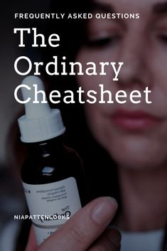 How to Use The Ordinary skincare by Deciem