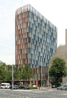 KfW Westarkade (Frankfurt, Germany) by Sauerbruch Hutton architects
