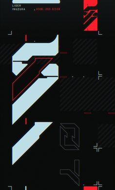 ArtStation - Logo Design: Hoang Watermark and Presentation, Liger Inuzuka Graphic Design Posters, Graphic Design Illustration, Graphic Design Inspiration, Typography Design, Graphic Tees, Graffiti Wallpaper, Dark Wallpaper, Mobile Wallpaper, Graphisches Design