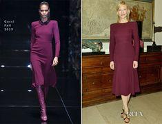 Cate Blanchett In Gucci – Milan Fashion Week Portraits