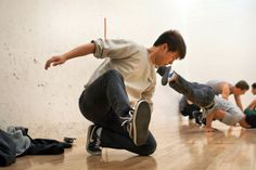By Kendall McCaugherty, The Daily Illini |  Winston Feng, a junior, and member of the break dancing crew Floor Lovers Illinois. They will compete against other crews from across the nation at the Illini Union this Saturday, April 6th.