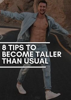 Alpha Male Traits, Increase Height Exercise, Gym Workout Tips, Workouts, High Testosterone Levels, Fix Your Posture, Height Growth, How To Grow Taller, Self Improvement Tips