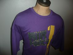 vintage Nike Air Force 1 One shirt 4XL gray 80s BRS products Nike Air Purple #Nike #GraphicTee