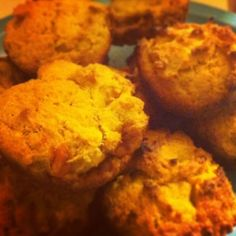 Ripped Recipes - No Added Sugar Carrot Muffins - I make these yummy muffins with the carrot pulp from juicing! Subtly sweet and satisfying!