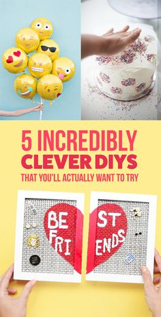 Start your day with some Clever DIYS that we are itching to try ourselves! DIYs are the best