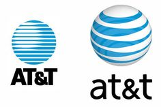 The AT&T logo is the name of the company sitting beneath a globe. The logo is to show that AT&T has coverage worldwide.