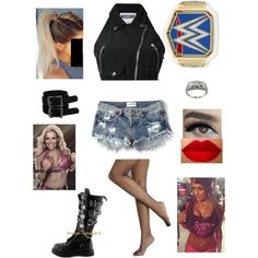 Wrestling Outfits, Wwe Outfits, Dress Outfits, Dresses, My Outfit, Outfit Ideas, Nice Clothes, Fan Fiction, Inspired Outfits