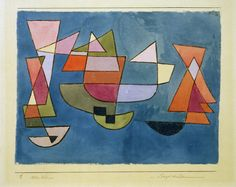 paul klee schiffe, 1927