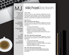 15 modern resume template free download resume template ideas - Microsoft Word Resume Templates