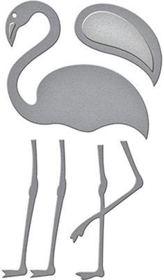 Spellbinders D-Lites Die - Flamingo