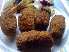 Croquetas de zanahoria y nueces. Tapas, Muffin, Breakfast, Diy, Food, Husband, Vegetarian Recipes, Cooking Recipes, Vegans